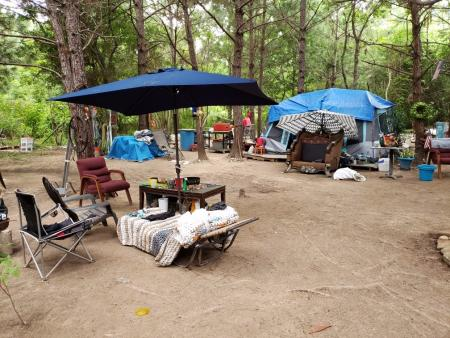 Deputies Clean Out Illegal Camp